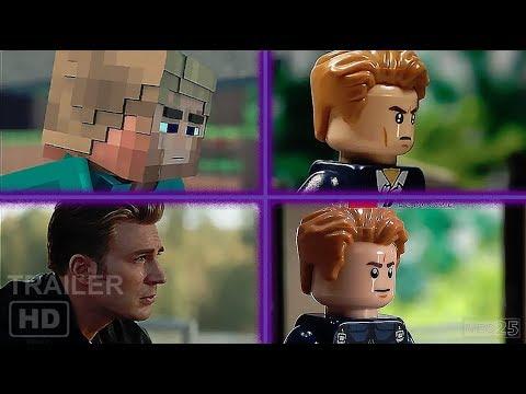Avengers Endgame Trailers (Lego, Minecraft, Marvel) Compilation