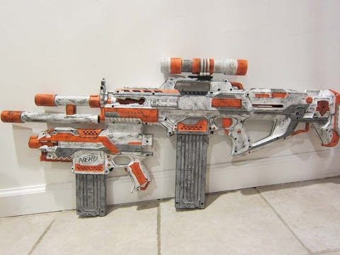 Nerf Rapidstryfe Integration [Rapidstrike with Stryfe and Centurion Shell Integrated]