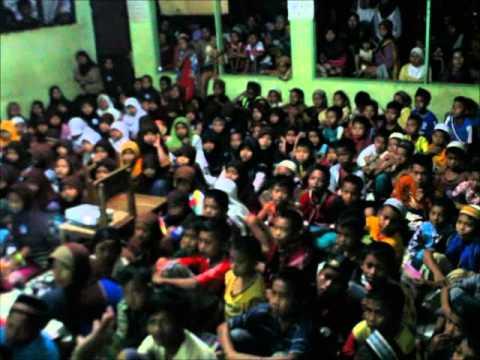Trauma Healing Semestarian dengan anak-anak korban banjir Patia & Pagelaran Pandeglang - ...