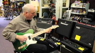 Northwest Guitars:  Tom Anderson Drop T Classic in Key Lime Surf