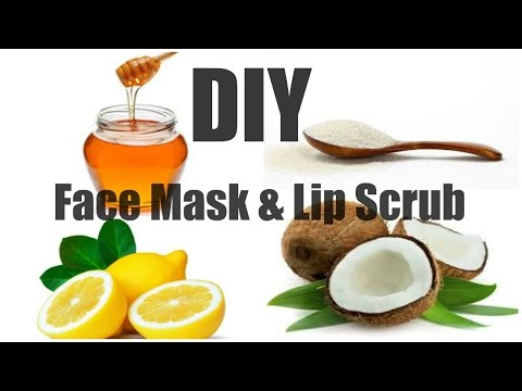 DIY Face Mask & Lip Scrub