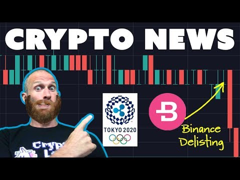 Binance Delistings | TRON 200x Faster than ETH | #Ripplympics | World Crypto Con Unboxing