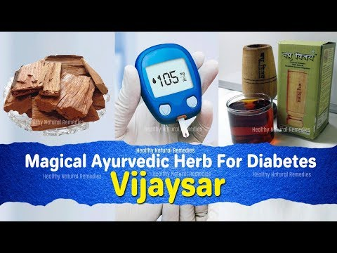 Ayurvedic Herb for Diabetes: Vijaysar to Manage Blood Sugar Levels