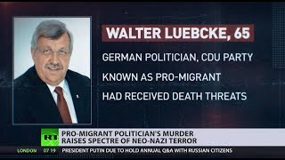 'Pro-refugee' politician's murder raises concerns of neo-Nazi terror in Germany