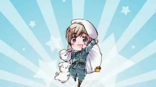 【APH】Maru Kaite Chikyuu|Pyörivä Maapallo【Fanmade Fin…
