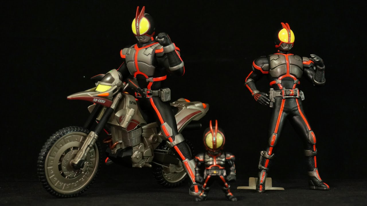 ミッドナイトバージョン Kamen Rider 555 Faiz Midnight version