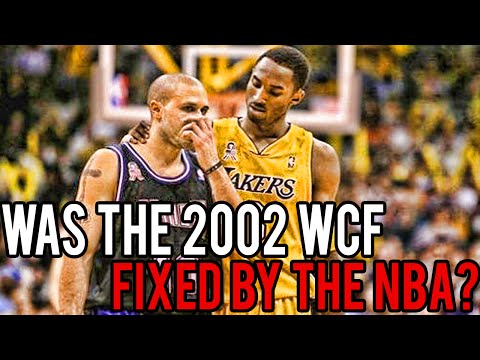 Was The 2002 WCF (Lakers Vs Kings) Fixed By The NBA?