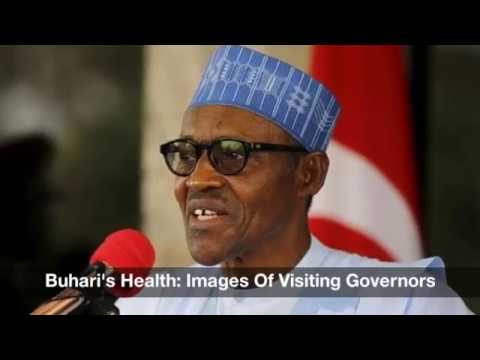 President Buhari's Health: Images Of Visiting Governors From Nigeria