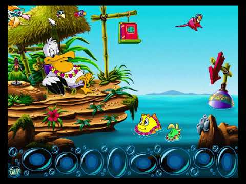 Let's Play Freddi Fish 3 01 - Under the Subs  