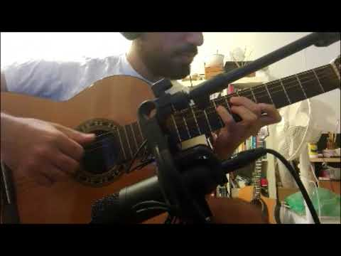 Fly me to the moon Jazz guitar some Chord melody + comping - YouTube