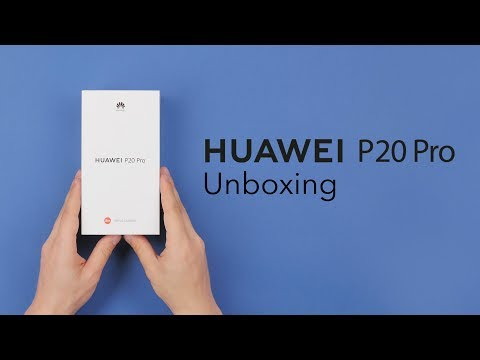 Unboxing Huawei P20 Pro - RTV EURO AGD