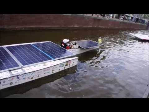 Solar Boat Team UI at Dutch Solar Challenge 2016 Netherland