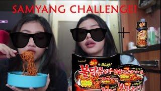 Samyang Challenge + BON CABE LEVEL 15!!! In Jatinangor lol (BAHASA)
