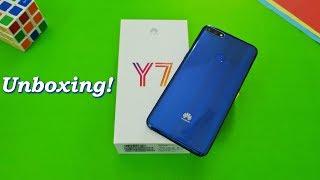 Huawei Y7 Prime (2018) Unboxing! | Mystic Blue!