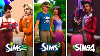 Бизнес в The Sims | Сравнение 3 частей