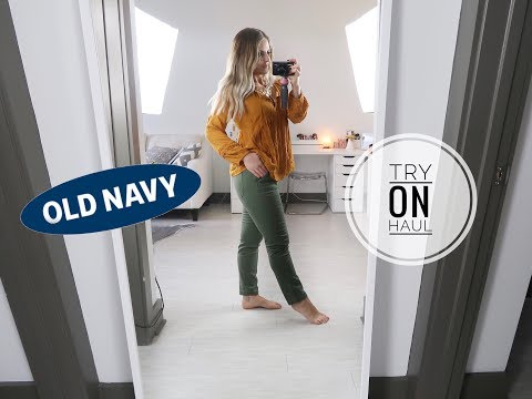 OLD NAVY TRY ON HAUL FALL 2018 | PART 2