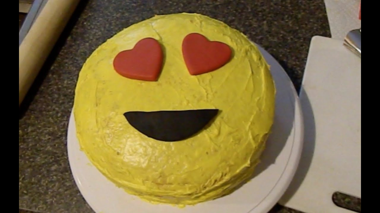 How To Make A Emoji Cake