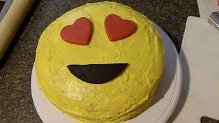 Emoji Cake, Heart Eyes Emoji, Heart, Face Emoji