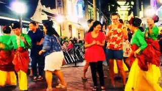 Malay Dance Party in Arab Street of Singapore