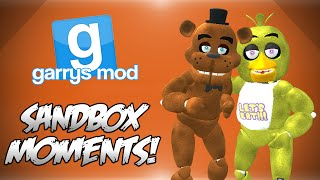 One of Mini Ladd's most viewed videos: GMod Sandbox! - FIVE NIGHTS AT FREDDYS SPECIAL! (Funny Moments)