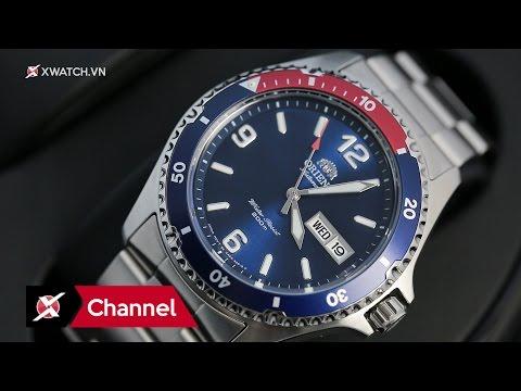 Đồng hồ Orient Mako Pepsi II (FAA02009D9): Bản nâng cấp đắt xắt ra miếng