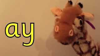 Geraldine the Giraffe learns /ay/