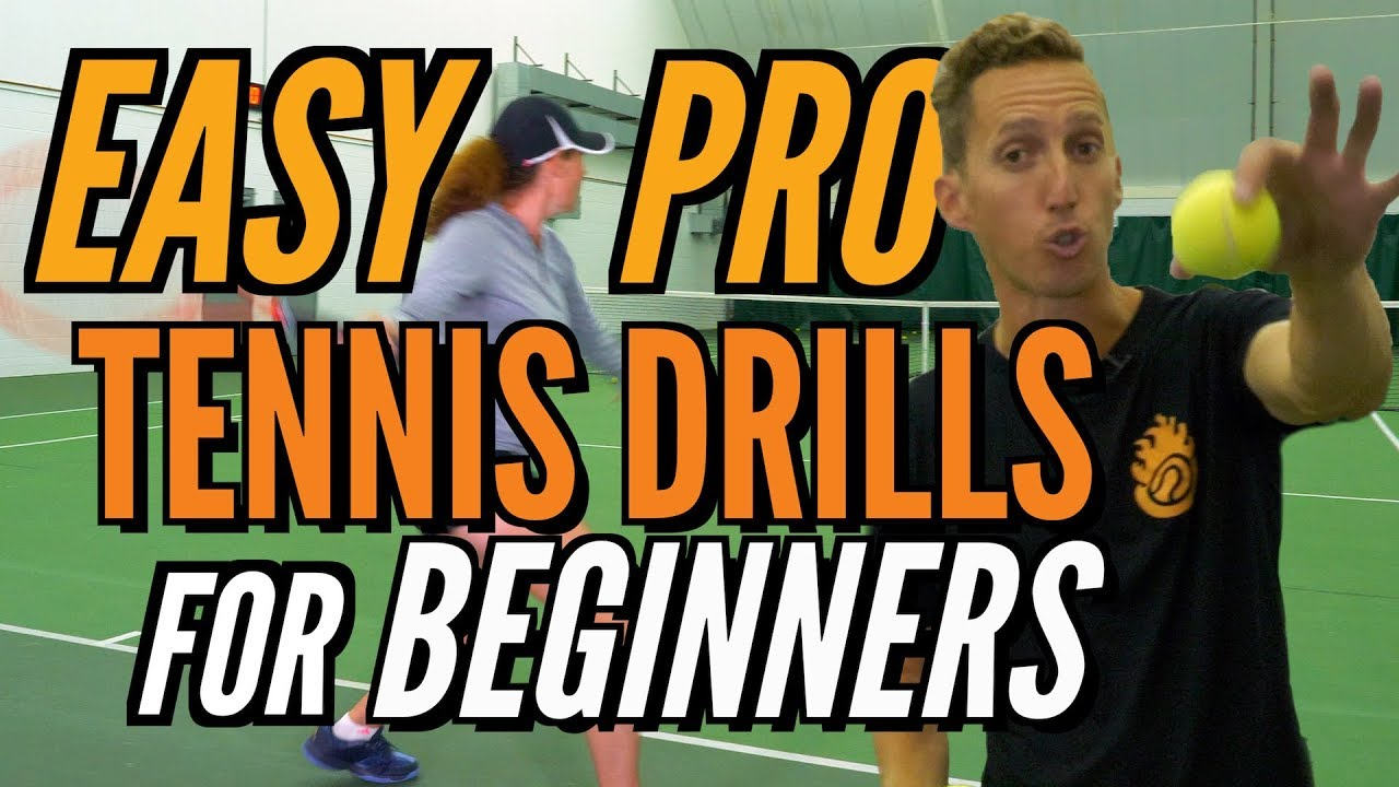 EASY Pro Tennis Drills For Beginners!