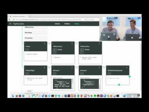 Build a chatbot in 6 minutes with IBM Watson Conversation (short)