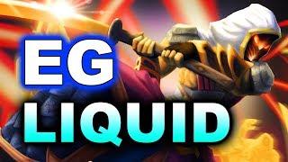 LIQUID vs EG - CRUSHING 27-0 GG! - BUCHAREST MAJOR DOTA 2