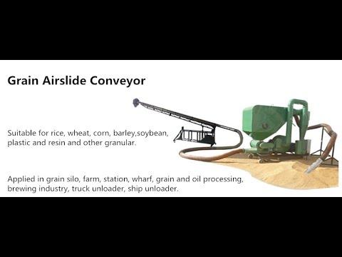 30t/h Mobile grain airslide conveyer