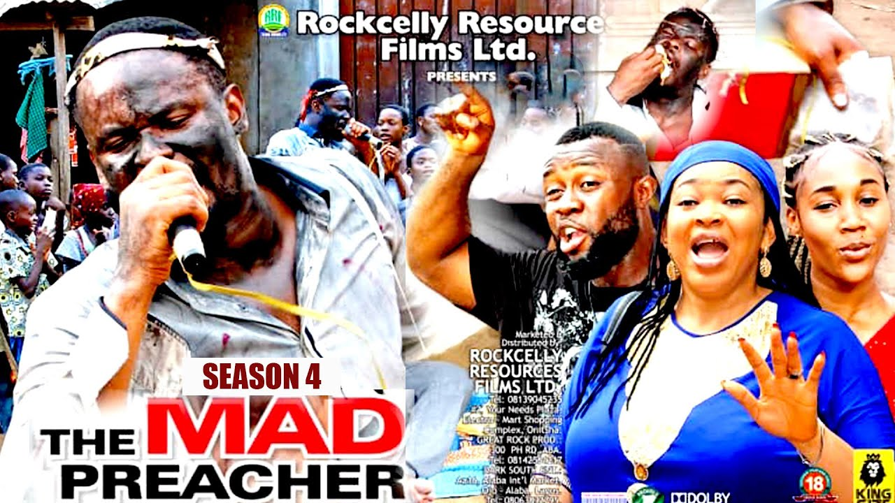 Download MAD PREACHER (SEASON 4) - ZUBBY MICHEAL 2021 NOLLYWOOD BLOCKBUSTER || ROCKCELLY TV