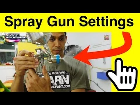 Spray Gun Settings For Painting Door Jambs