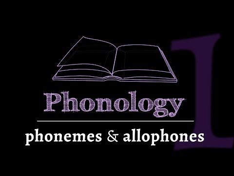 Intro to Phonology: Phonemes & Allophones (lesson 1 of 4)