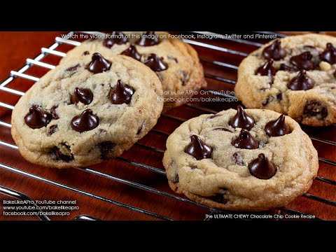 The Ultimate Chewy Chocolate Chip Cookies Recipe