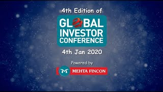 Highlight of The 4th Edition of Global Investor Conference 2020 powered by Mehta Fincon Services Ltd