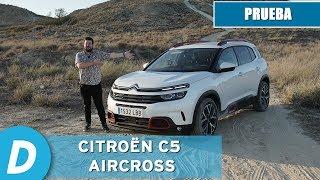 Prueba SUV: Citroën C5 Aircross 1.2 PureTech a fondo | Review en español | Diariomotor