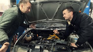 Ехали за Subaru Forester а пришлось чинить Skoda Fabia...