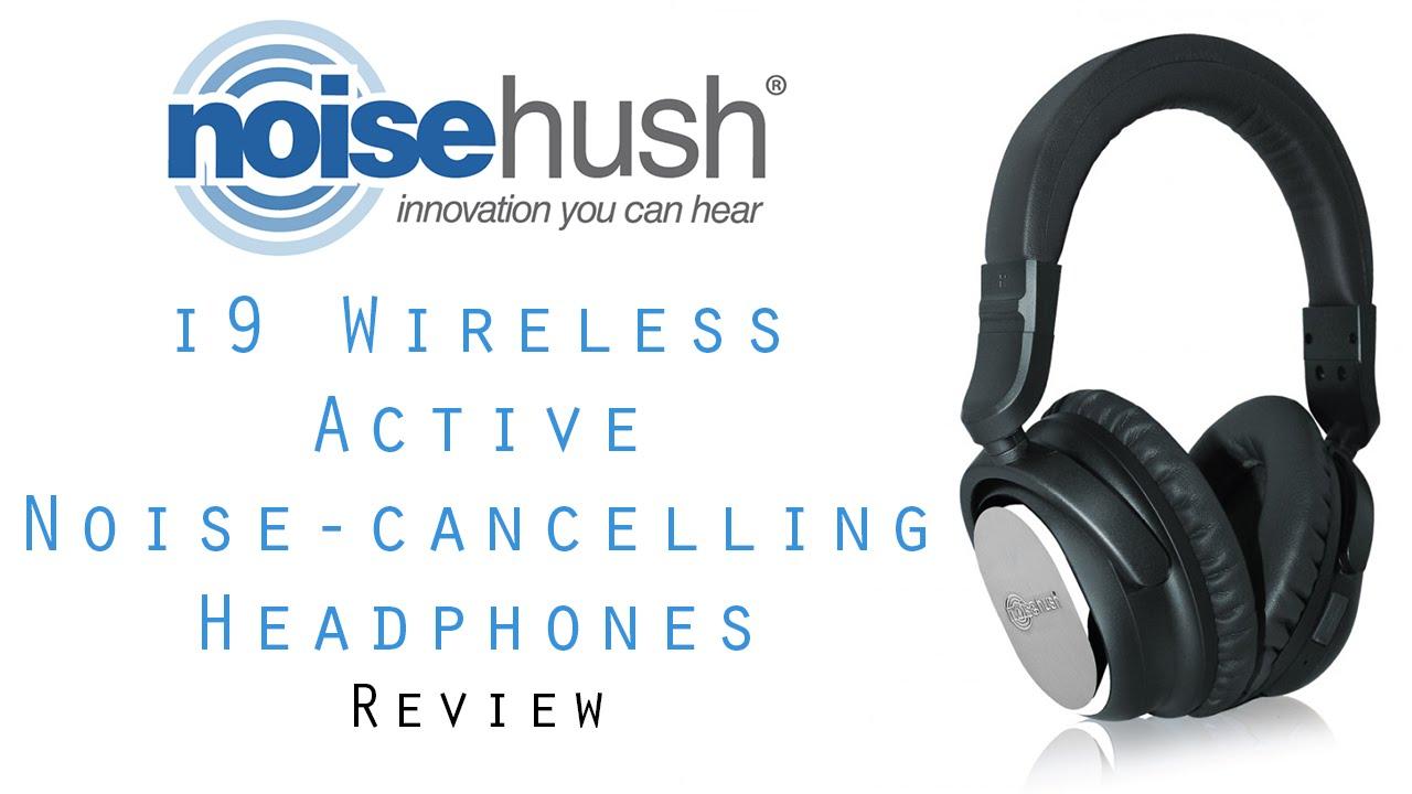 4758d54f610 NoiseHush i9 Bluetooth Active Noise-Cancelling Headphones [Review ...