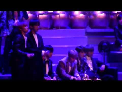161202 BTS focus reaction to ZICO - BERMUDA TRIANGLE(Feat. Crush,DEAN) [MAMA 2016](HD) fancam