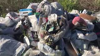Cleaning up illegal dump sites