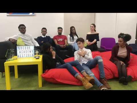 Young Entrepreneurs at GoCode Academy - Teens Meet Jobs