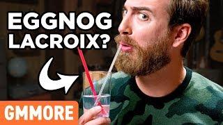 La Croix Eggnog Taste Test