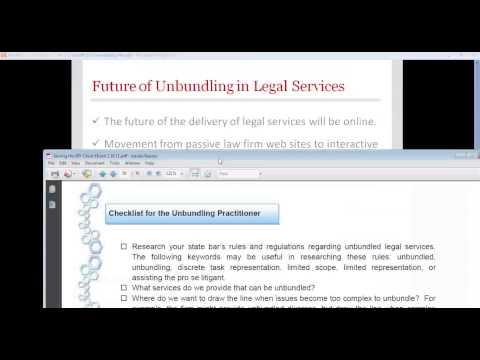 Power Chat - Unbundled Legal Services