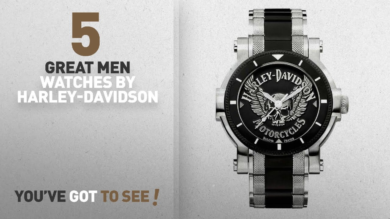 573ae3a3611 Top 10 Harley-Davidson Men Watches [ Winter 2018 ]: Harley-Davidson ...