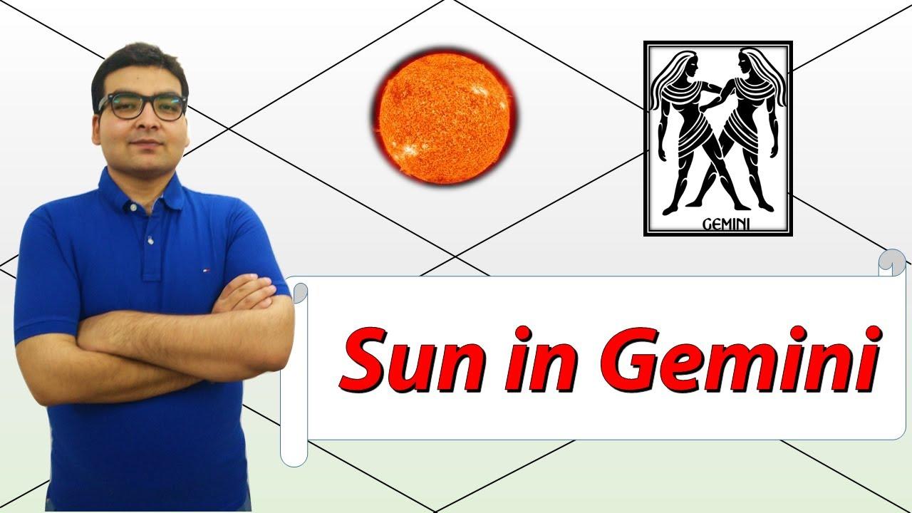 vedic astrology gemini sun