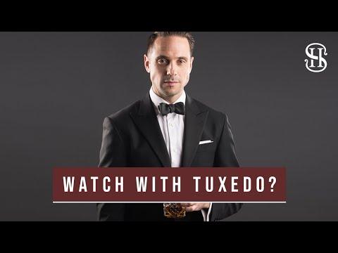 Watch With Tuxedo? Is It Okay? | Black Tie Watch Guide