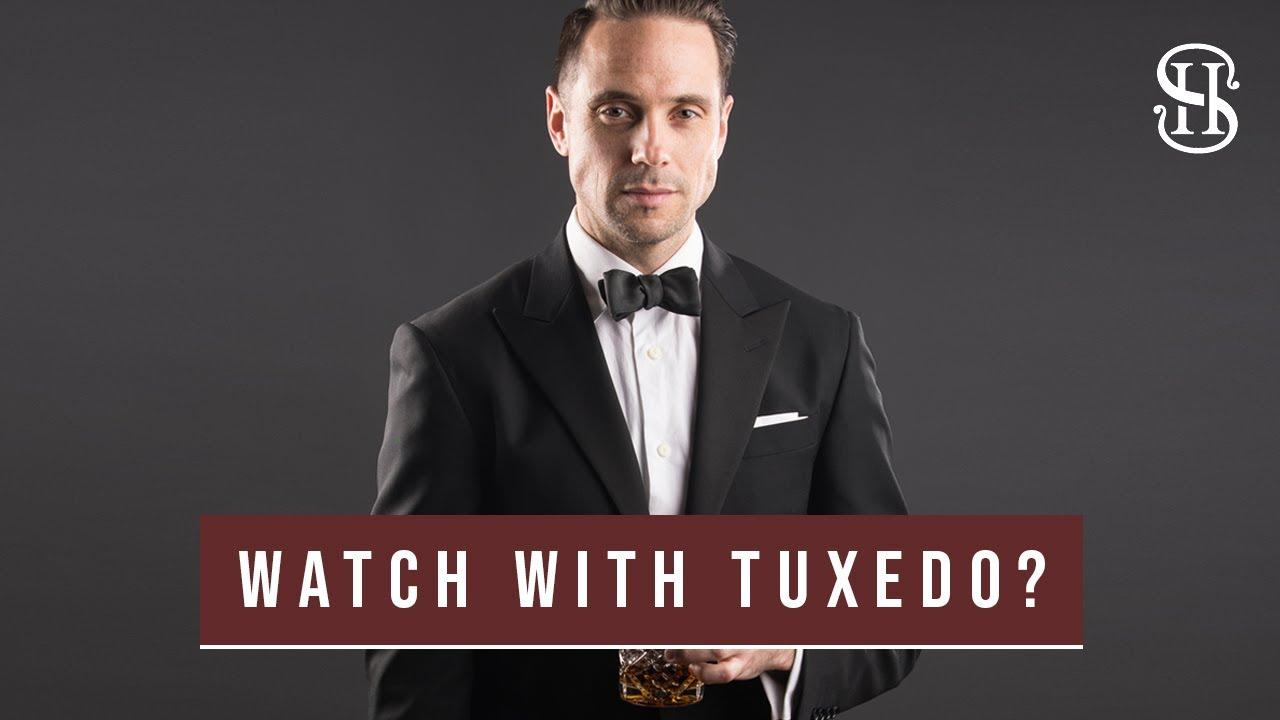 945d83755df5 Should You Wear A Watch With A Tuxedo? - He Spoke Style