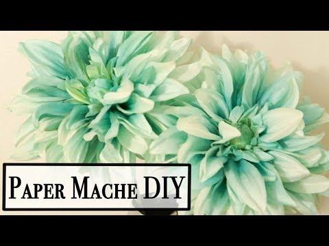 How to Make Paper Mache Paste ~ Fast Easy Paper Mache Recipe ~ Paper Mache DIY