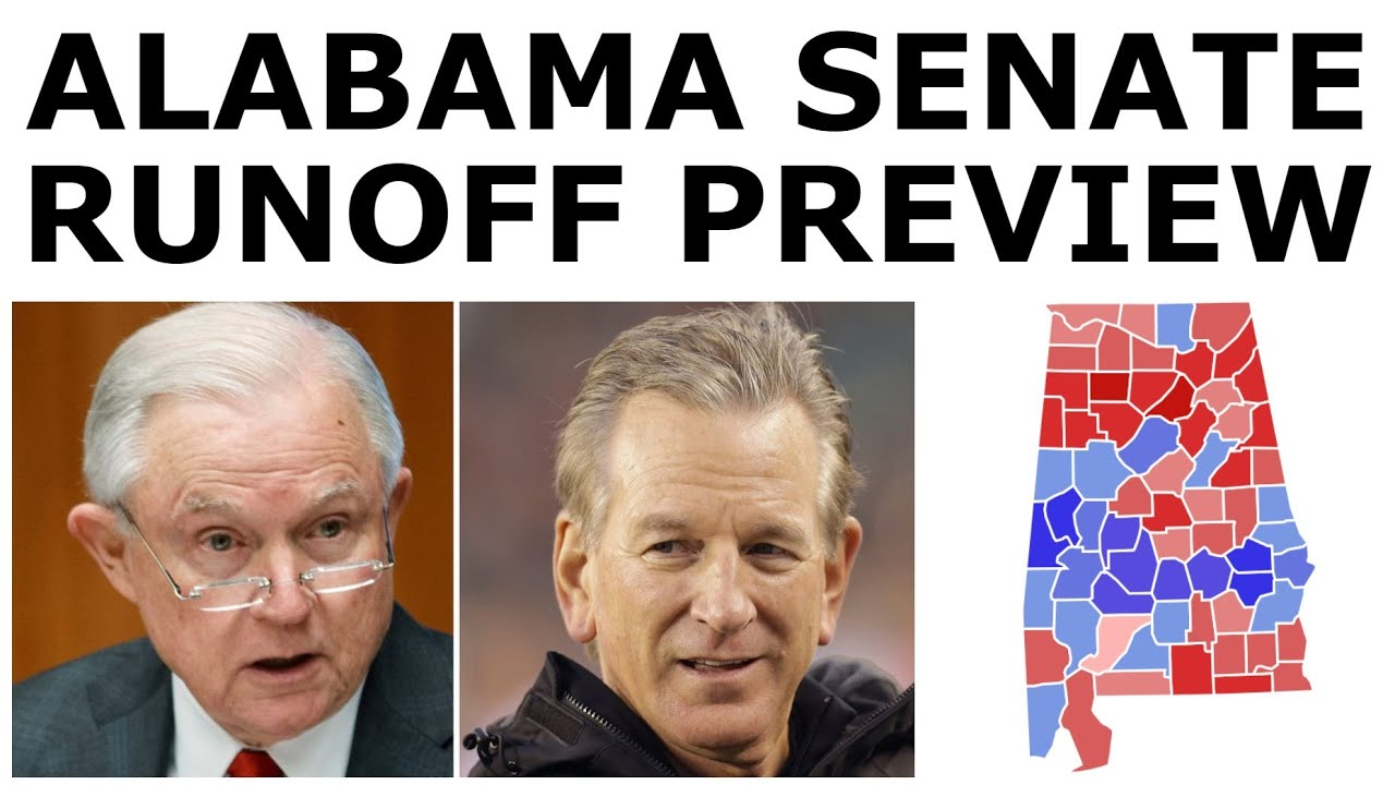 SESSIONS vs. TUBERVILLE! - Alabama Senate Primary Runoff Preview