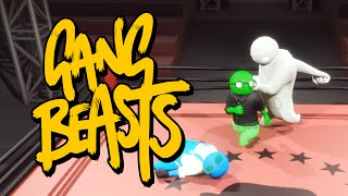 Gang Beasts - БОЙ НА РИНГЕ (Брейн и Даша)